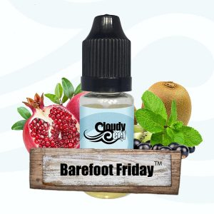 Barefoot Friday -by Cloudy Reef Deluxe E-Liquid