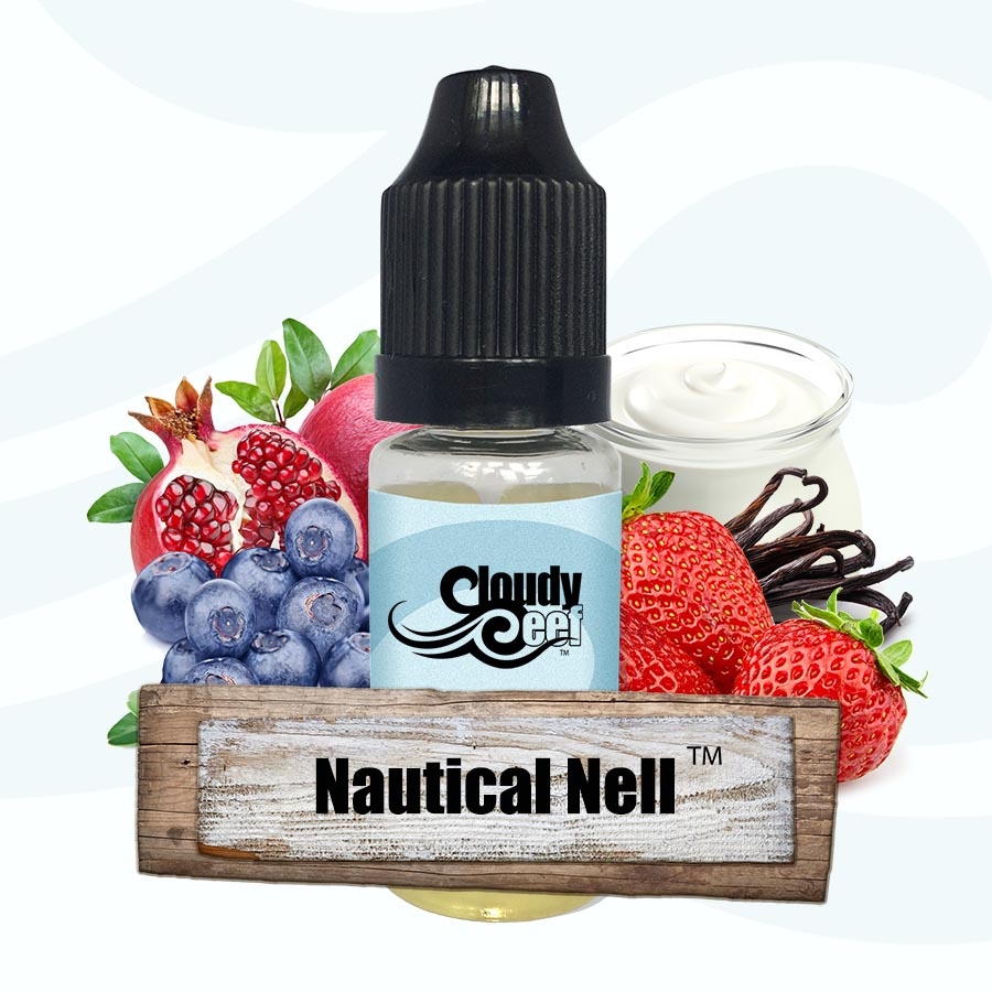 Nautical Nell -by Cloudy Reef Deluxe E-Liquid